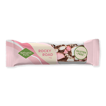 12 x Springhill Farm Rocky Road Gluten Free Display Box GLUTEN FREE Rocky Road Springhill Farm