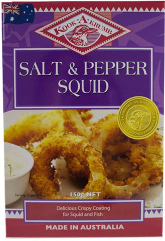 KookaKrumb - Salt & Pepper Squid Breadcrumbs 200g x 12