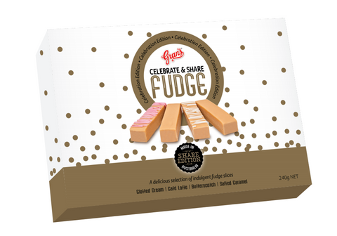 Gran's Fudge - Celebrate & Share 240 g x 12