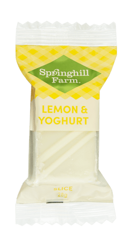 27 x Springhill Farm Bites (Individually Wrapped) - Lemon and Yoghurt Individually Wrapped Bites Springhill Farm