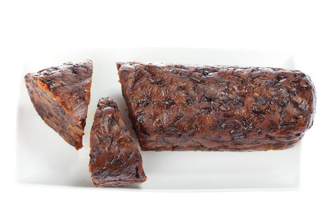 1 x Newcastle Pudding Lady Undecorated Traditional Log Christmas Pudding 1 kg Puddings Newcastle's Pudding Lady