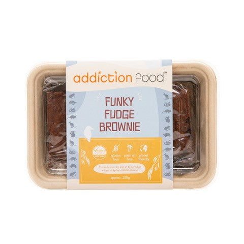 Addiction Food - Funky Fudge Brownies (4) 250gm