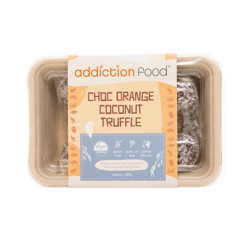Addiction Food - Orange & Coconut Truffles (10) 250gm
