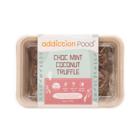 Addiction Food - Mint Truffle (10) 250gm