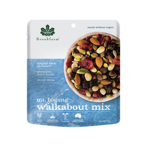 Brookfarm Walkabout Mix - Mt Bogong Mix 75g x 12