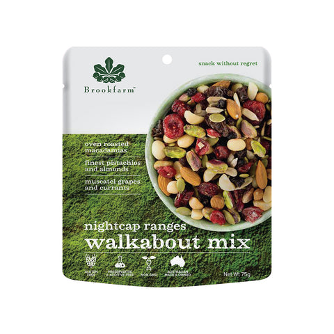 Brookfarm Walkabout Mix - Night Cap Range 75g x 12