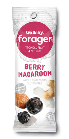 8 x Wallaby Forager - Berry Macaroon (Gluten Free)