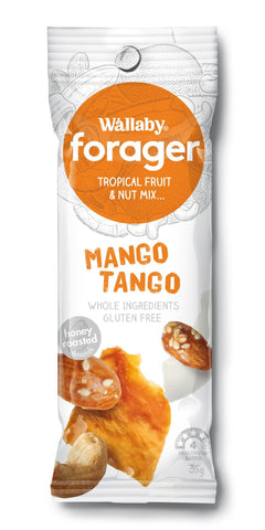 8 x Wallaby Forager - Mango Tango (Gluten Free) Fruit & Nut Slices Wallaby