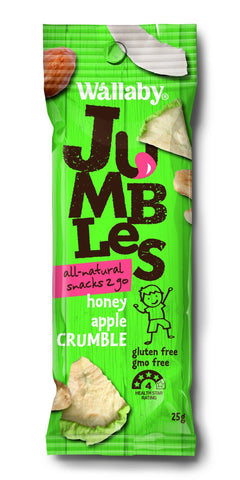 8 x Wallaby Jumbles - Honey Apple Crumble (Gluten Free)