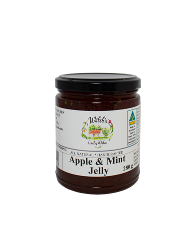 Walsh's Condiments - Apple Mint Jelly 280g x 6