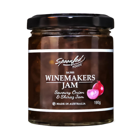 Spoonfed Foods - Winemakers Jam 200g x 6 GF