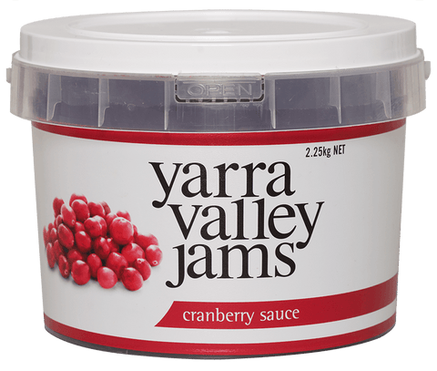 Yarra Valley Jams - Cranberry Sauce 2.25kg Sauces/Relishes Yarra Valley Jams