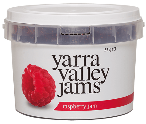 Yarra Valley Jams - Raspberry Jam 2.5kg Jams/Marmalades Yarra Valley Jams