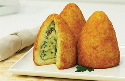 24 x Chefs Edge Large Arancini - Mushroom, Spinach & Mozzarella Frozen Savouries Chefs Edge