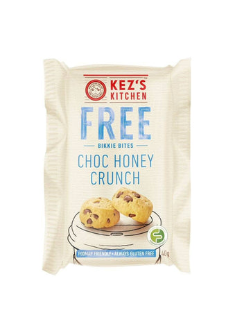 50 x Kez's Bites - Gluten Free Choc Honey Crunch Bites Individually Wrapped Bites Kezs