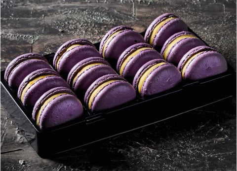 Loomas - Passionfruit Macarons x 12