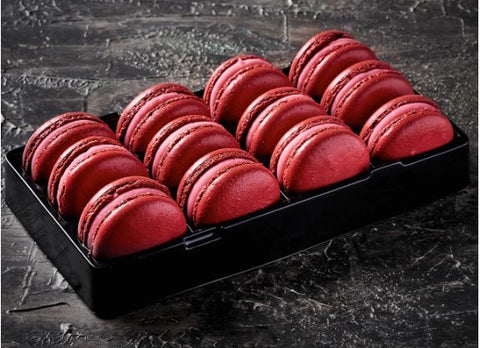Loomas - Red Skin Macarons x 12