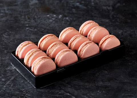 Loomas - Strawberry Macarons x 12