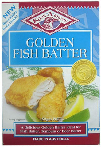KookaKrumb - Golden Fish Batter 200g x 12