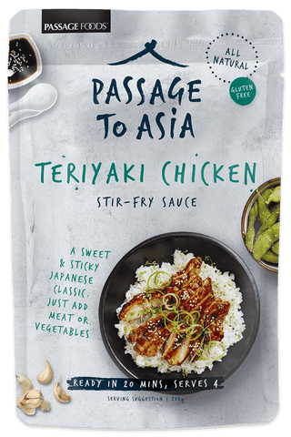 Passage Foods - Teriyaki Chicken Stir Fry 200g x 6