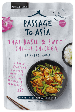 Passage Foods - Thai Basil & Chilli 200g x 6