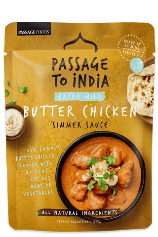 Passage Foods - Butter Chicken Simmer Sauce 375g x 6