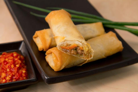 80 Chef's Edge Spring Rolls - Peking Duck Frozen Savouries Chefs Edge