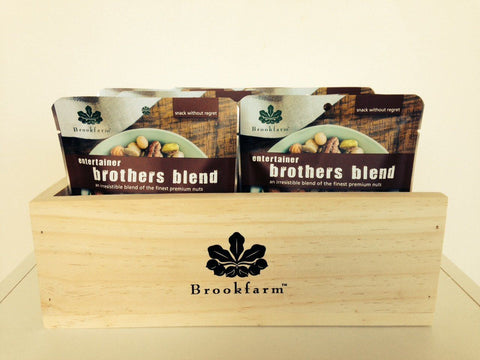 Brookfarm Wooden Box For Brothers Blend Entertainer Mix