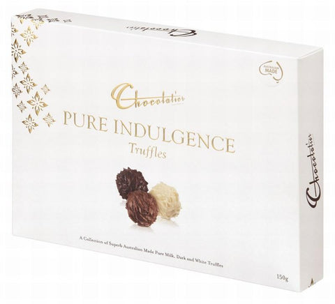 Chocolatier Gift Boxes - Pure Indulgence Assorted Truffle 150g x 12