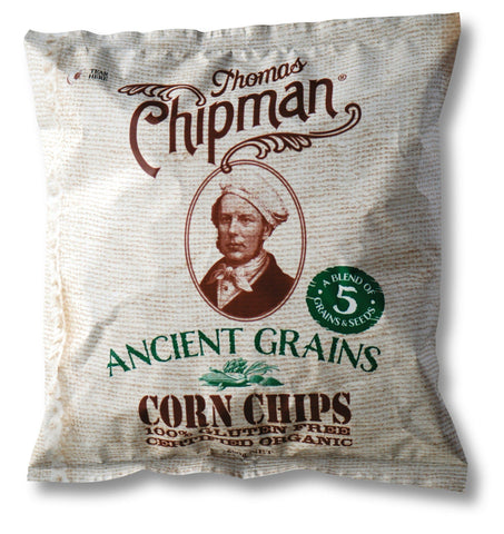 5 x Thomas Chipman Corn Chips Ancient Grains 200g