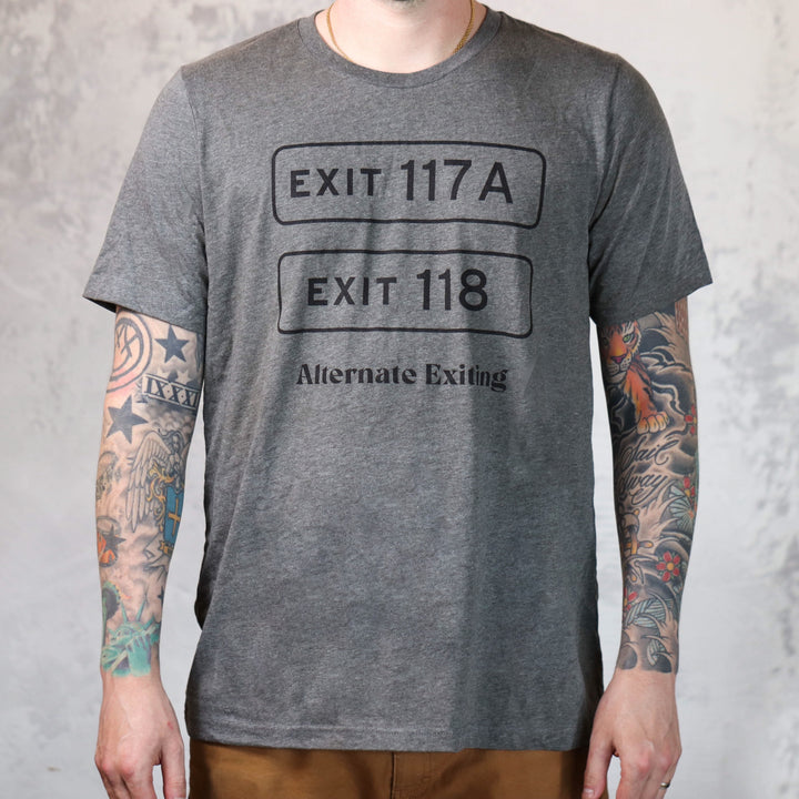 Alternate Exiting Locals Unisex Tee