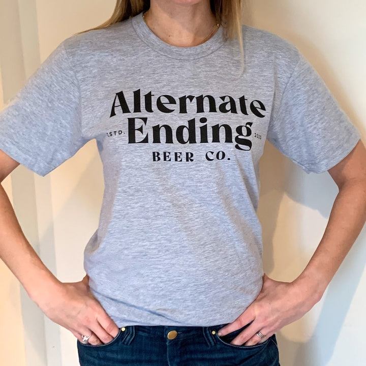 Unisex Gray AE T-Shirt