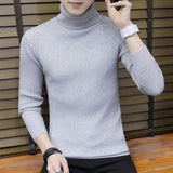 Streetwear Turtleneck Men Sweaters Autumn Winter Warm Turtle Neck Vintage Braided Knitted Slim Fit Pullover Mens Top Jumpers 3XL