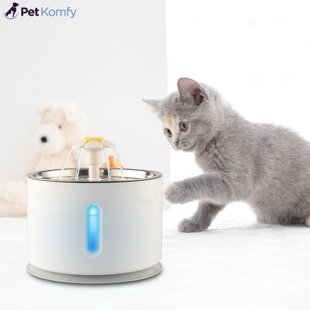 LED Cat & Dog Water Fountain (50% OFF + FREE SHIPPING)