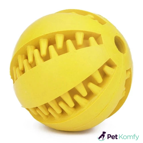 Dog Tooth Cleaning Toy Ball