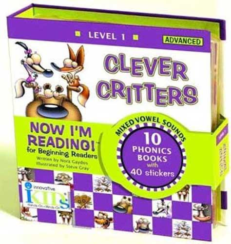 Now I'm Reading! Clever Critters Phonics Readers