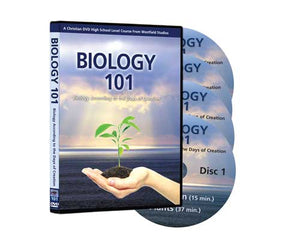 Biology 101 Series, 4 DVD Set