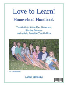 Ebook: Love to Learn! Homeschool Handbook