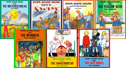 Snipp, Snapp and Snurr: Set of 7 Storybooks