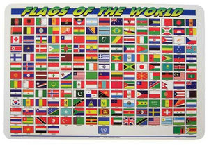 Flags of the World Placemat