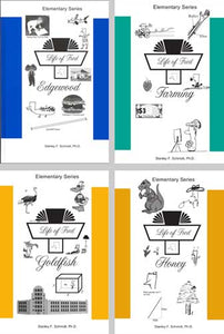 Life of Fred:  Elementary Set 2 - Edgewood, Farming, Goldfish, Honey (Books #5-8)