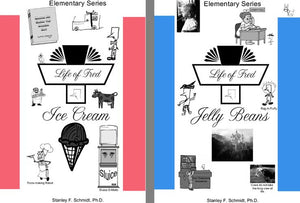 Life of Fred: Elementary Set 3: Ice Cream, Jelly Beans (Books #9-10)