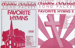 Lap Harp Music Favorite Hymns Set 1 & 2