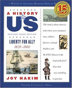 A History of US Book 5: Liberty for All? (3rd edition)