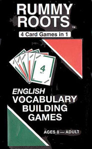 Rummy Roots Vocabulary Game