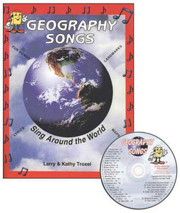 World Geography Songs, CD and Book