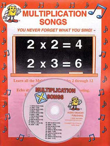 Multiplication Songs CD and Workbook
