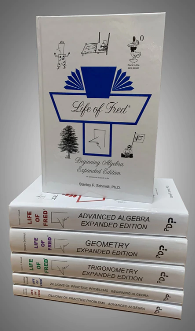 Life of Fred: High School Set (6 books)