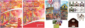 The Red Book - Complete 2nd Grade  Language Arts Program (Student, Teacher + Readers)