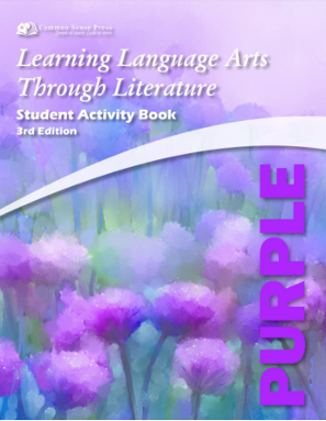 Ebook: Learning Language Arts Purple Activity Book, 5th Grade